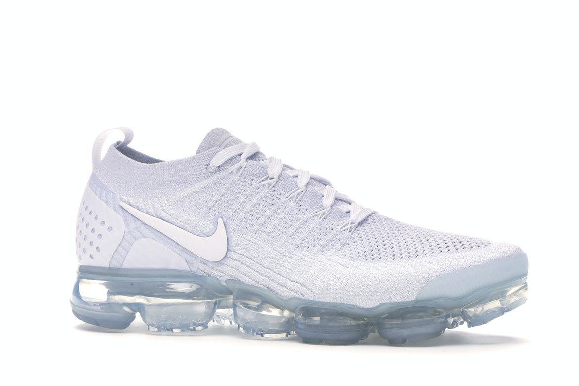 vapormax all white