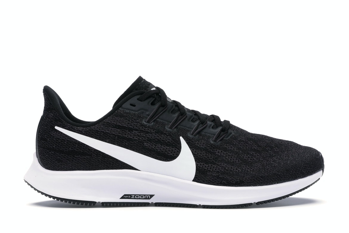 2019 Nike Air Zoom Pegasus 36 BlackWhite AQ2203 002 For Sale