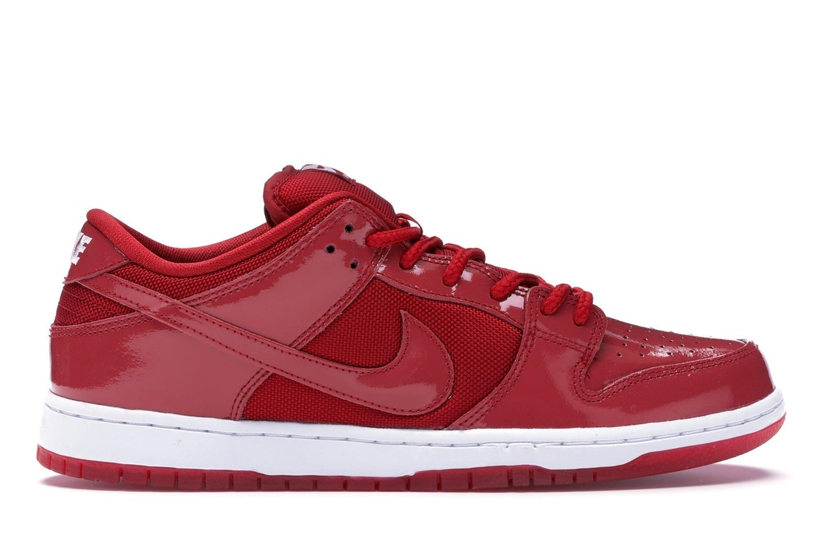 Nike Dunk SB Low Red Patent Leather