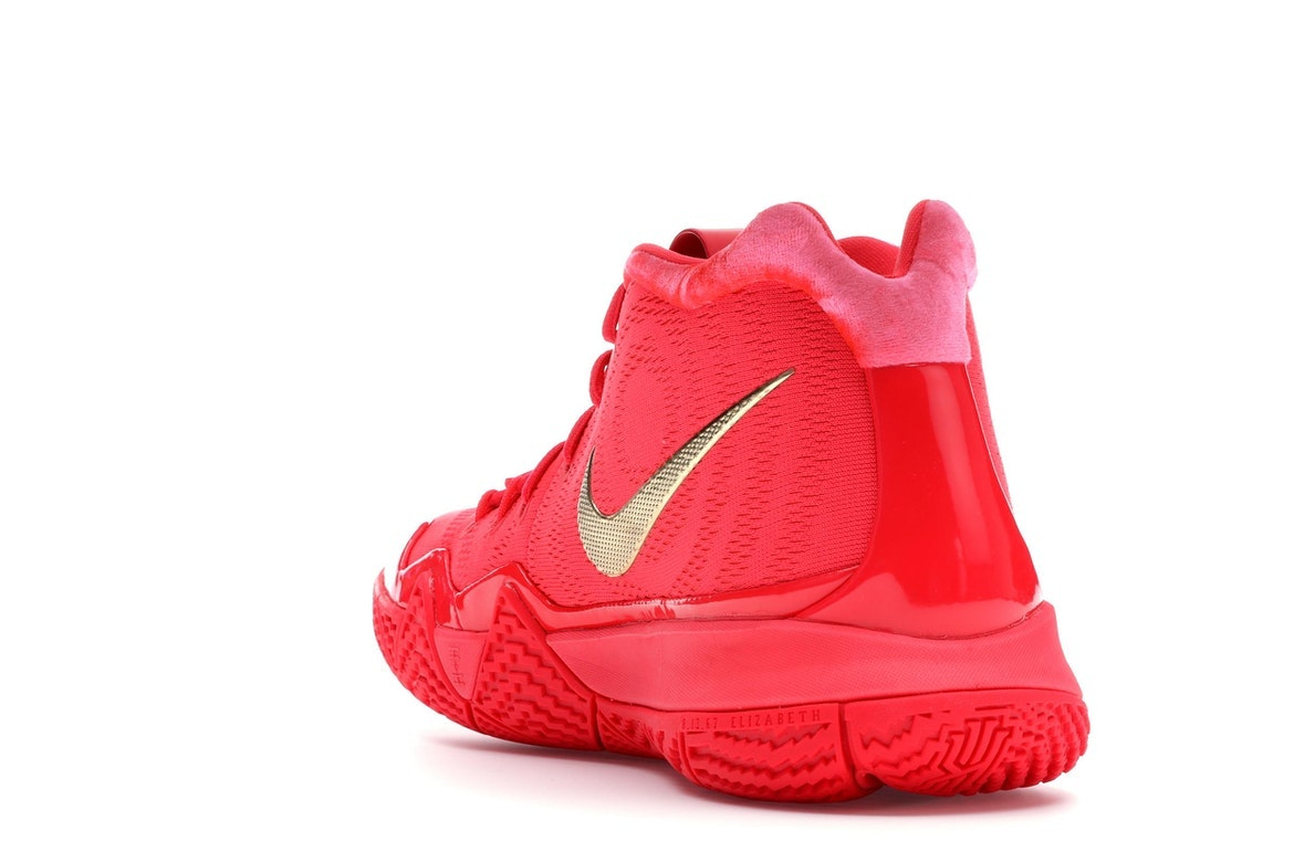 kyrie 4s red carpet