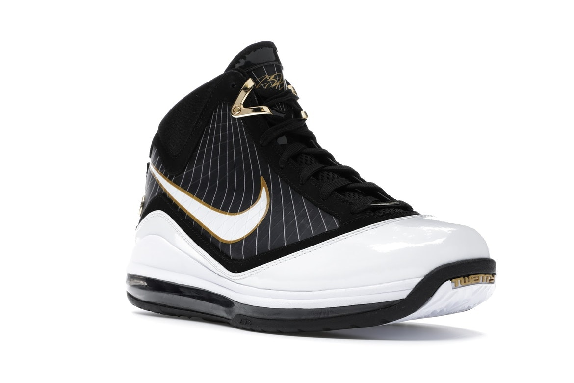 lebron 7 white and gold