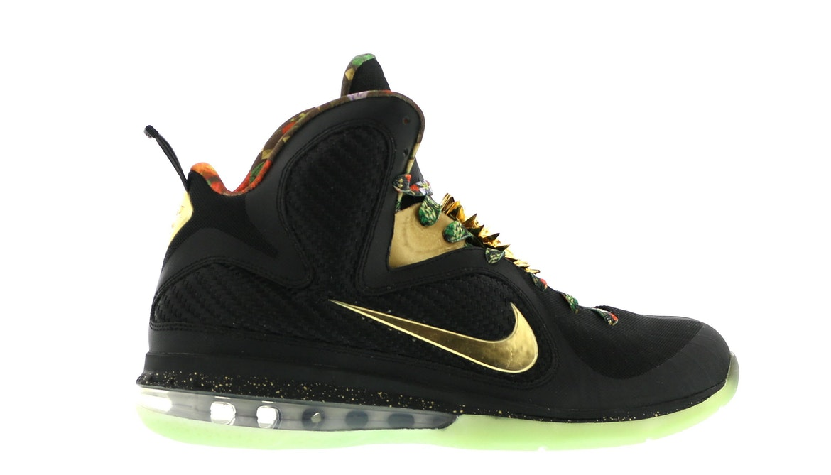 Nike LeBron 9 Watch the Throne (With