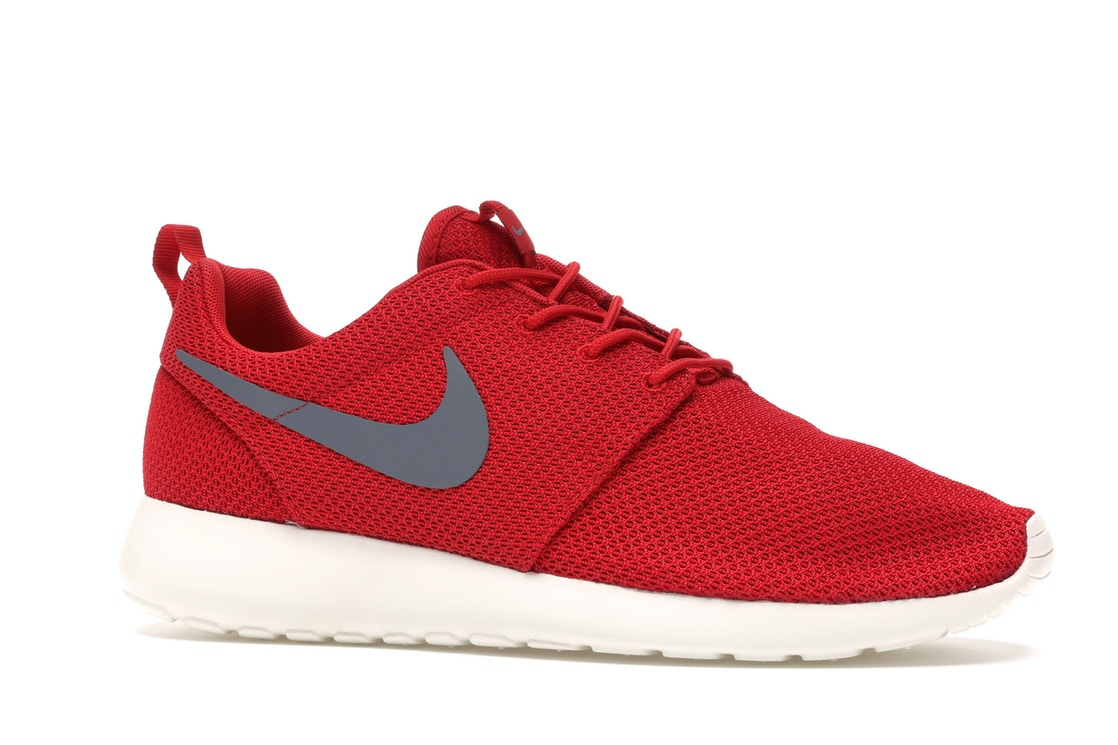 Fugaz Tesoro equilibrar  Nike Roshe Run Sport Red Cool Grey - 511881-601