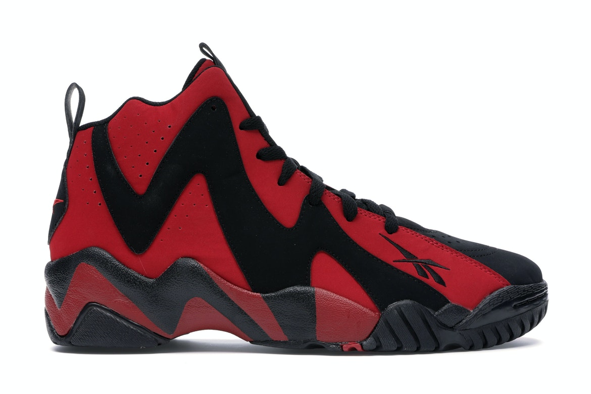 Reebok Kamikaze II Black Red - V44410