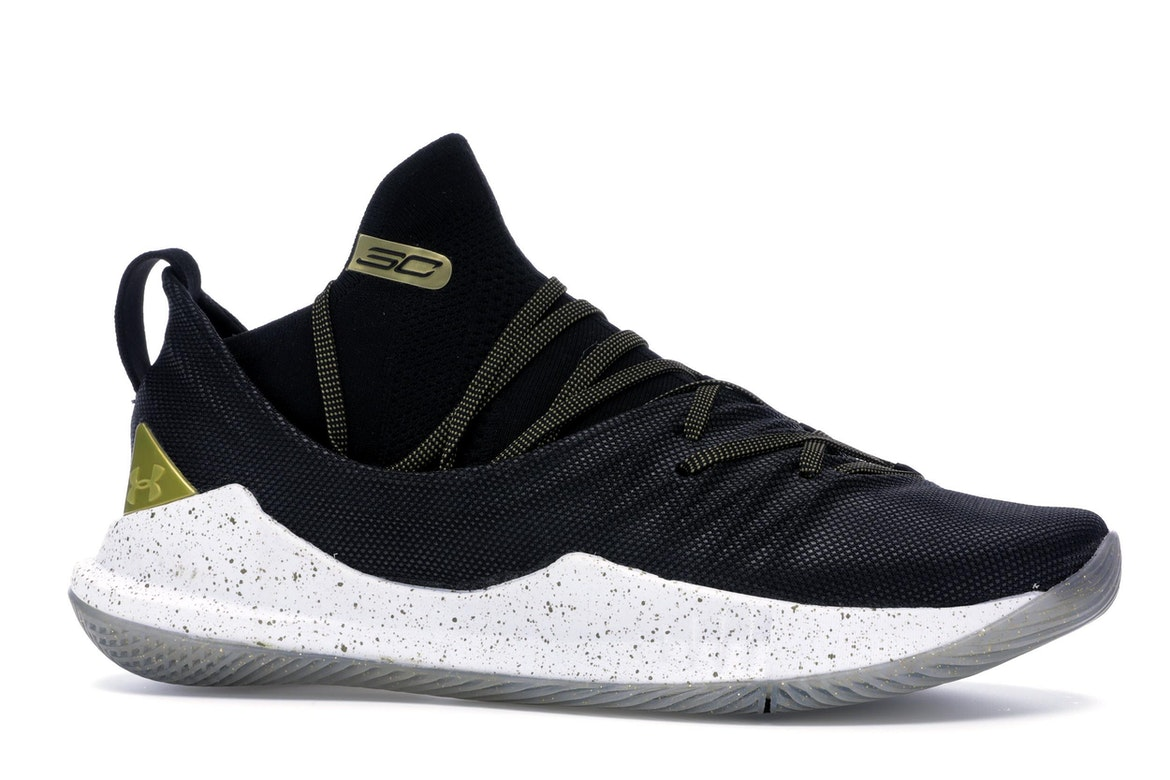 Under Armour Curry 5 Black Gold