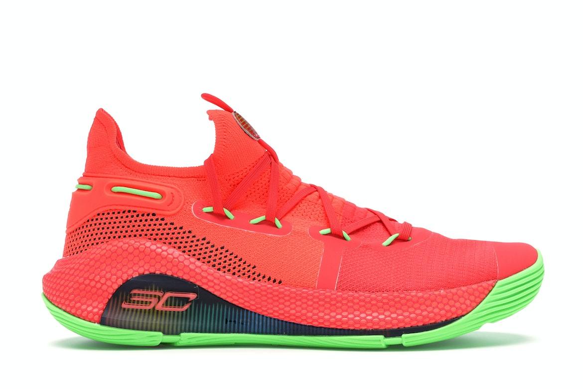 Under Armour Curry 6 Roaracle - 3020612-607
