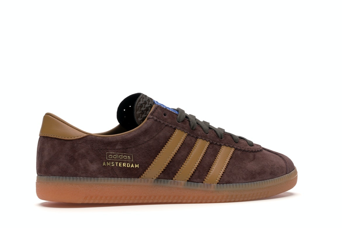 adidas Originals Amsterdam, Dust Rust Brown Mesa, 5,5