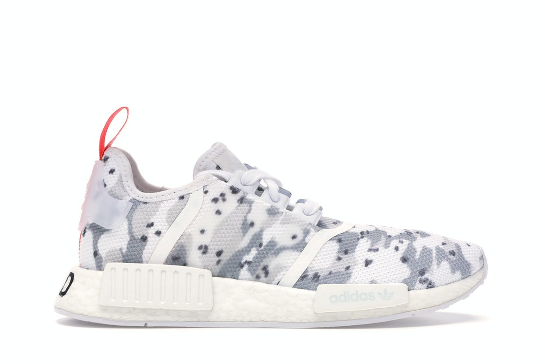 Adidas Nmd R1 Cloud White Solar Red W G27933