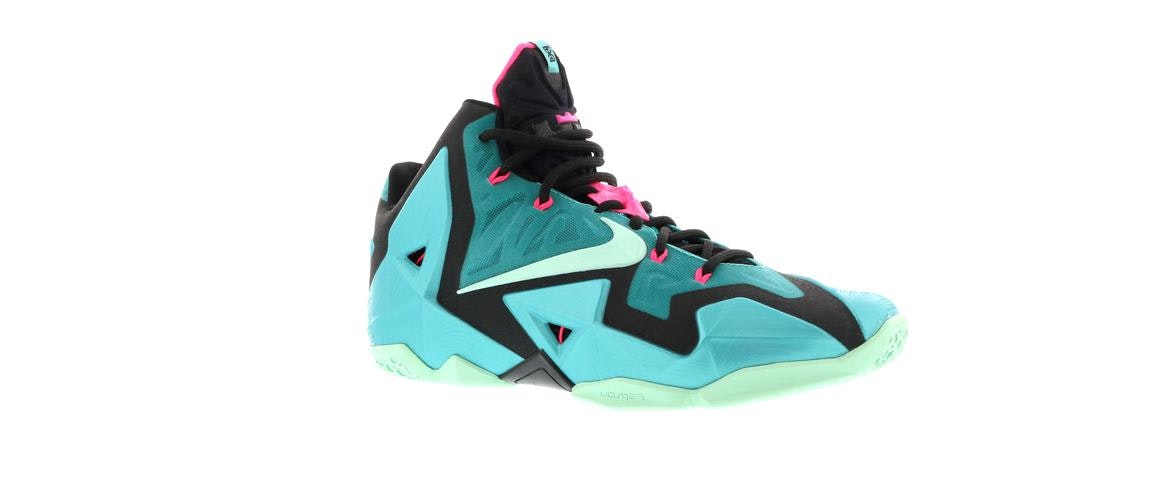 lebron 11 south beach resell price
