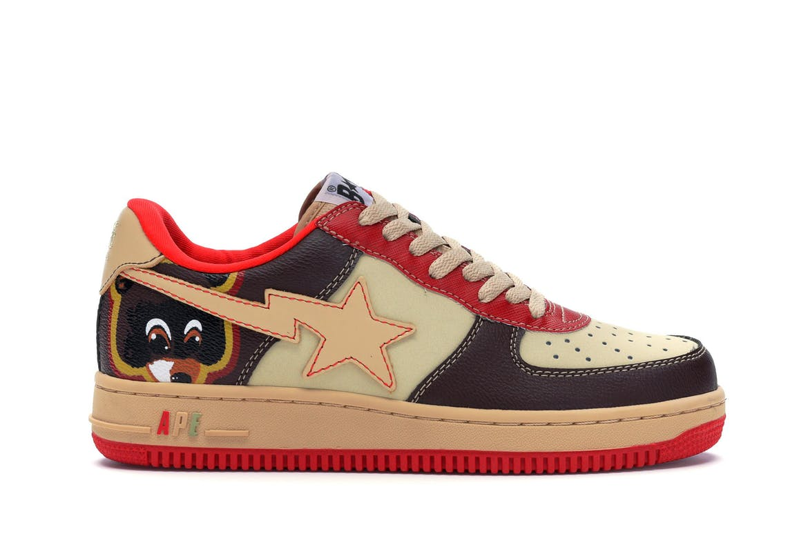 A Bathing Ape Bapesta Kanye West College Dropout