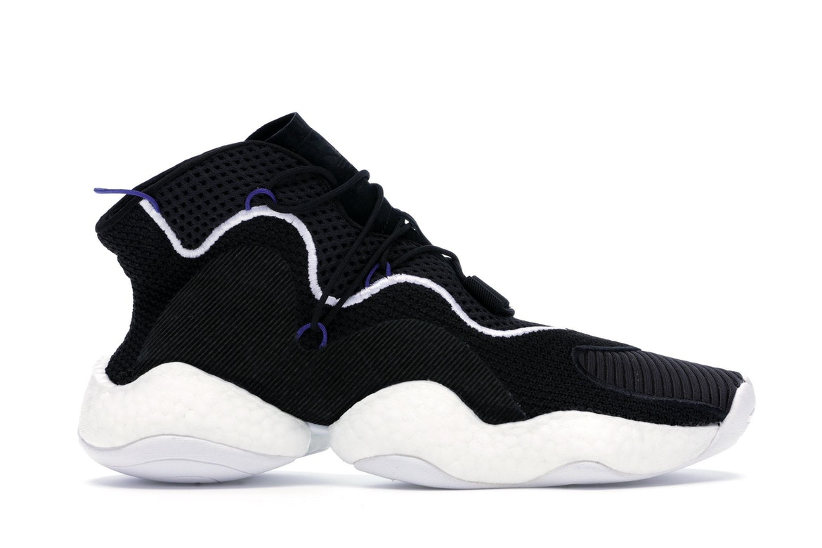 adidas Crazy BYW LVL 1 Boost Black Blue White For Sale