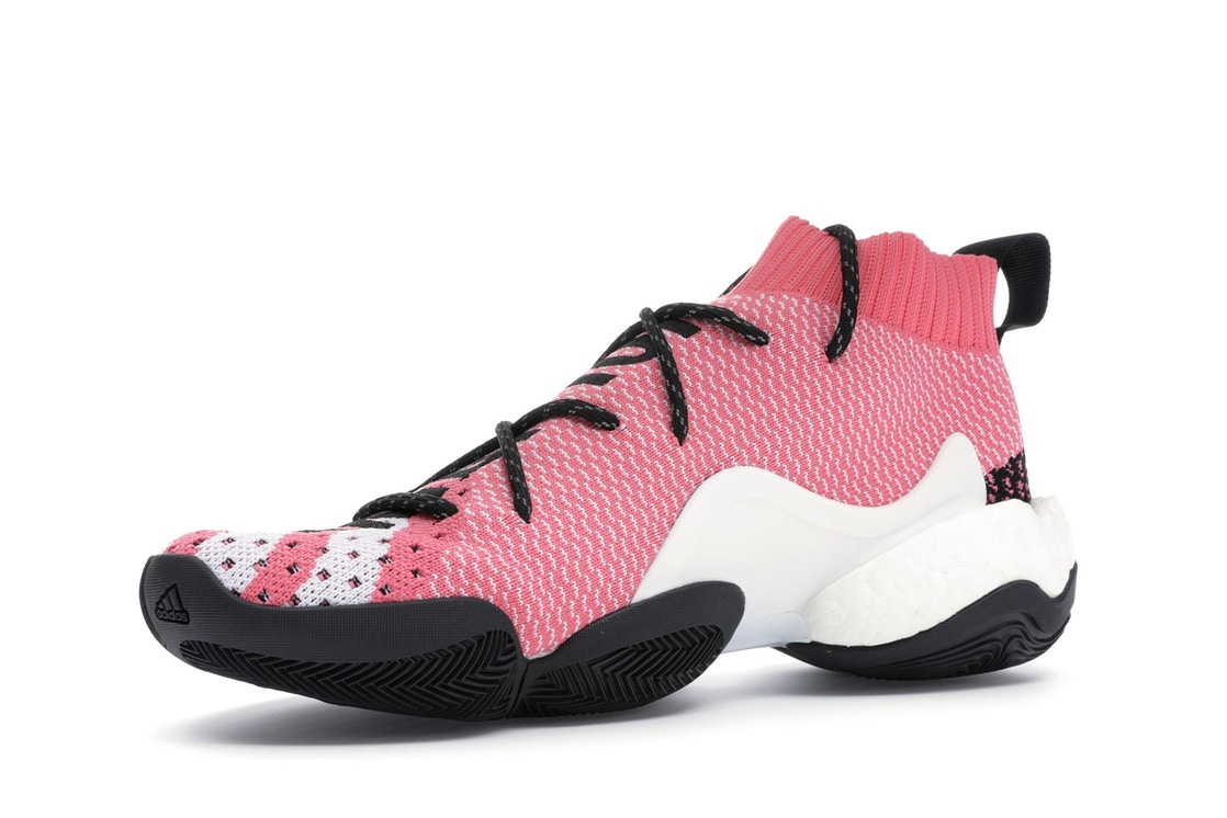 brand new 284af 7aa9c adidas Crazy BYW LVL X Pharrell Ambition Pink