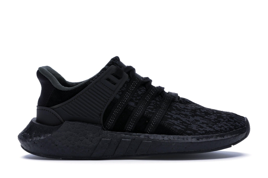 the latest ee2c8 f9dde adidas EQT Support 9317 Triple Black - BY9512