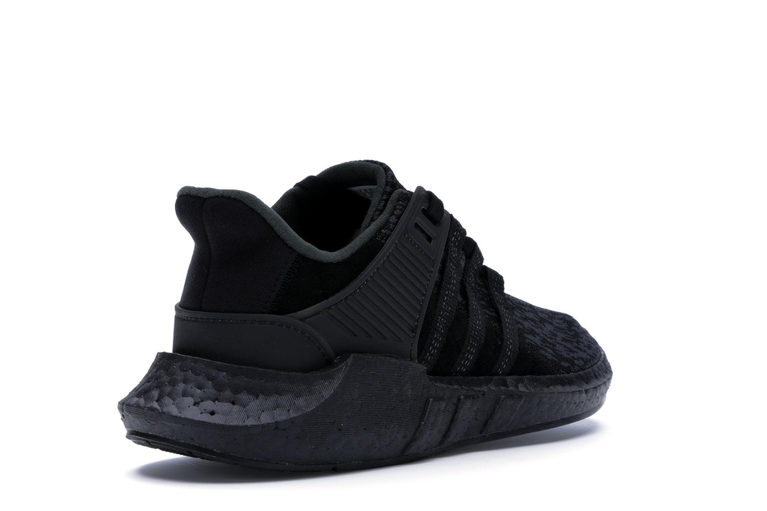 2217deafb adidas EQT Support 93 17 Triple Black - BY9512