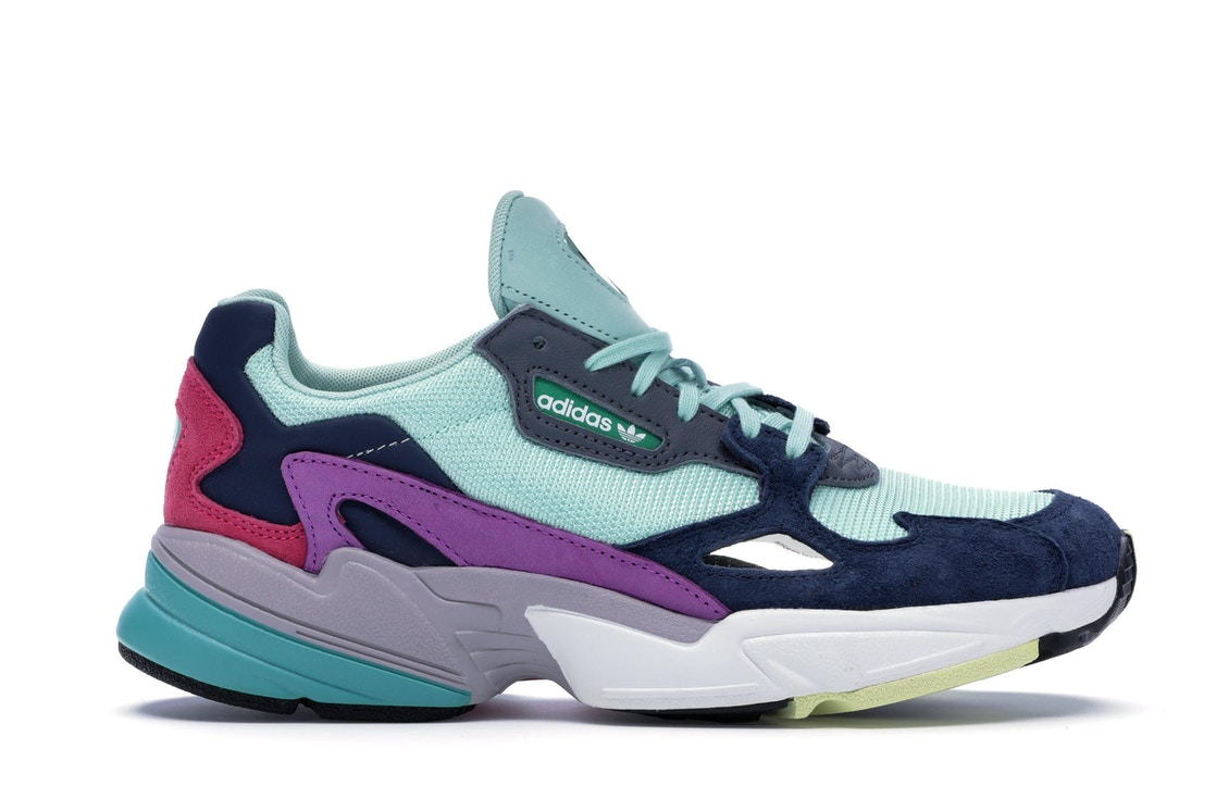 reputable site best authentic great fit adidas Falcon Clear Mint Collegiate Navy (W)