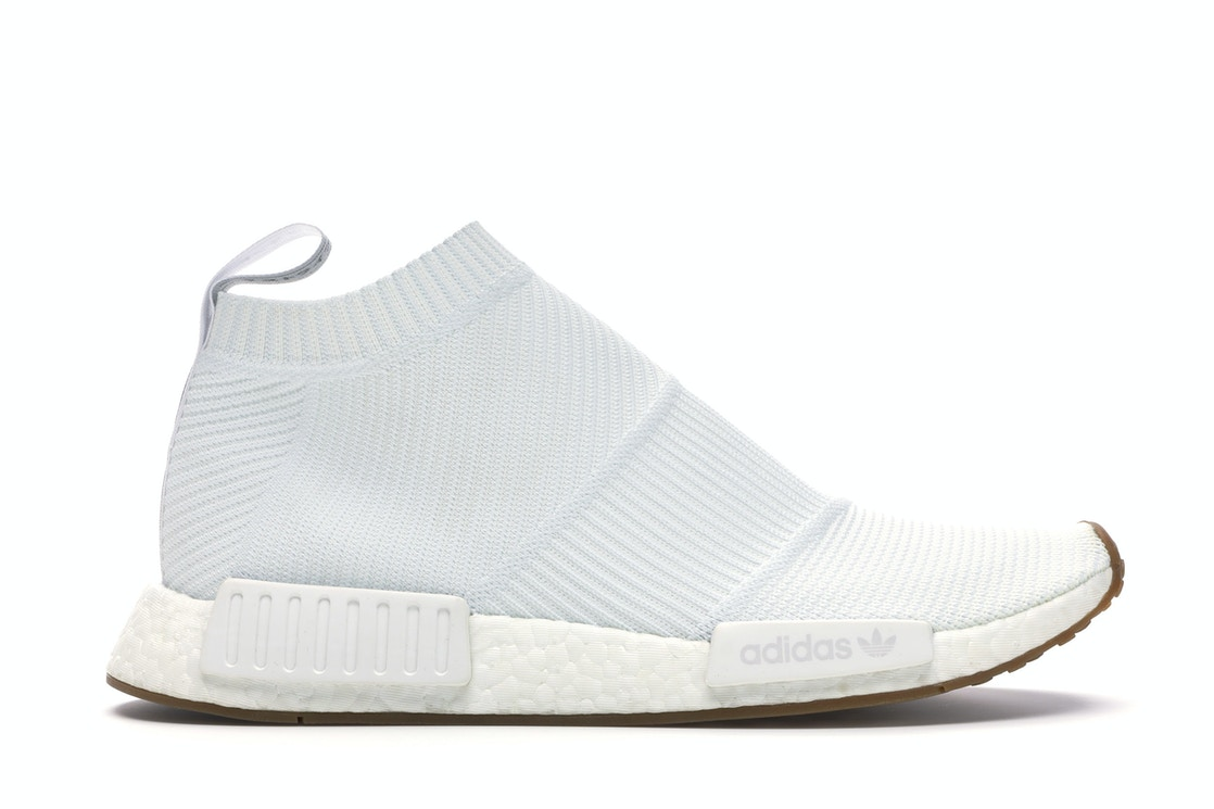 Poderoso Abuelo Martin Luther King Junior  adidas NMD City Sock Gum Pack White - BA7208