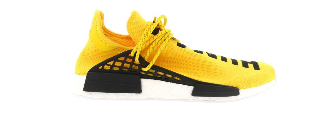 low priced 89239 e99d5 adidas NMD HU Pharrell Human Race Yellow