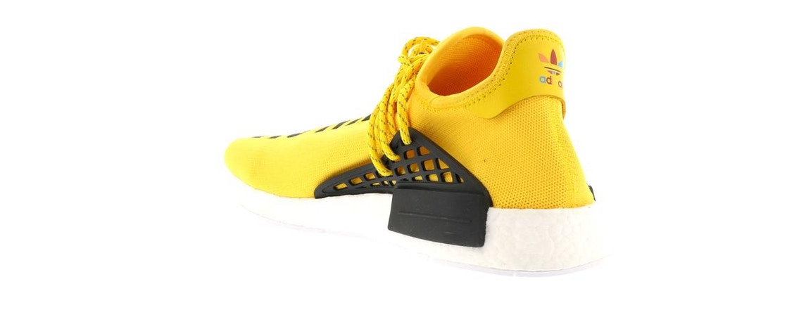 6414670e4 adidas NMD HU Pharrell Human Race Yellow - BB0619