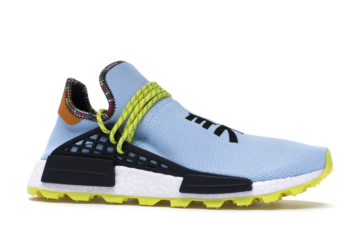 Details about Adidas NMD Human Race Pharrell Inspiration Pack Clear Sky Blue EE7581 US 10 HU