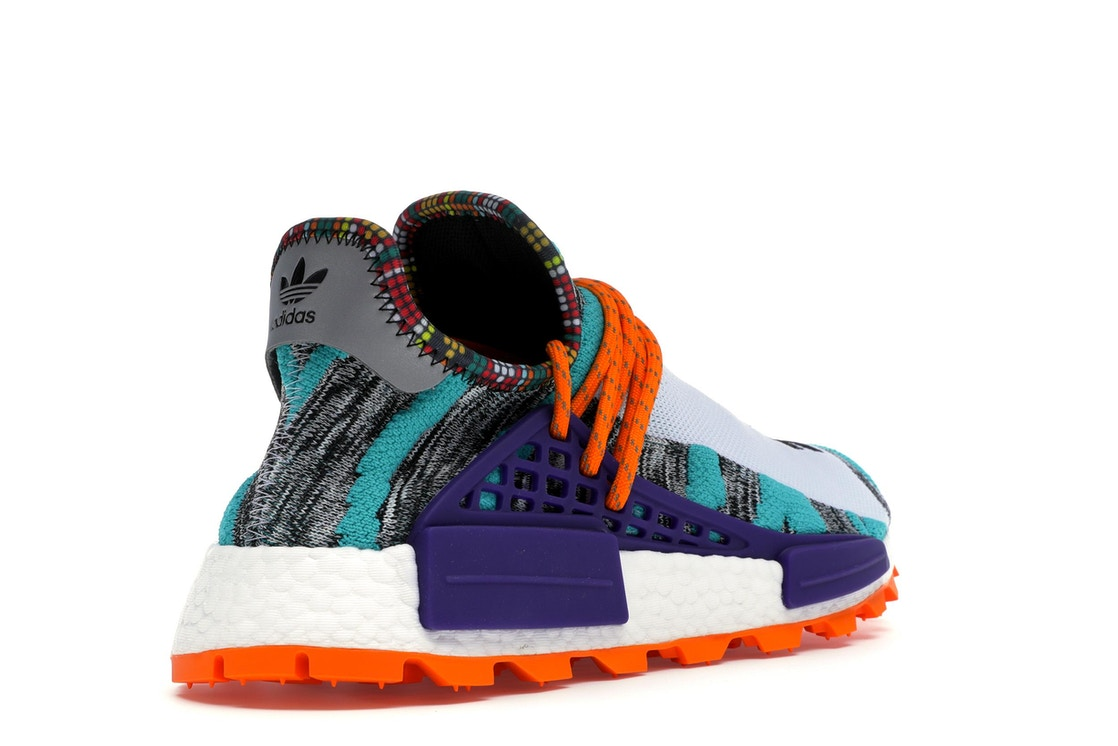 537153abc adidas NMD Hu Pharrell Solar Pack Orange - BB9528