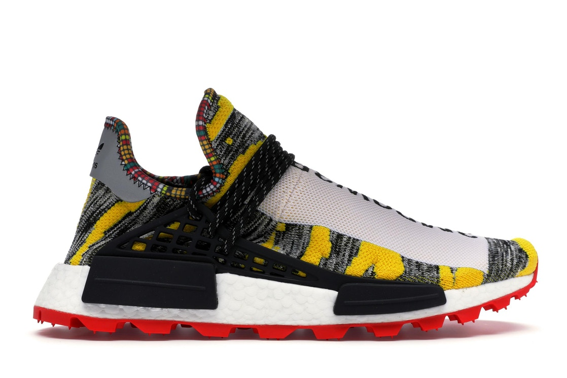 72733c21538e adidas NMD Hu Pharrell Solar Pack Red - BB9527
