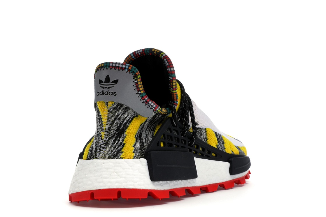 80971988b adidas NMD Hu Pharrell Solar Pack Red - BB9527