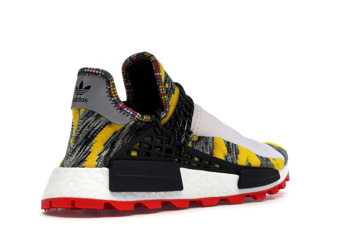 6c70041c7f93 adidas NMD Hu Pharrell Solar Pack Red - BB9527