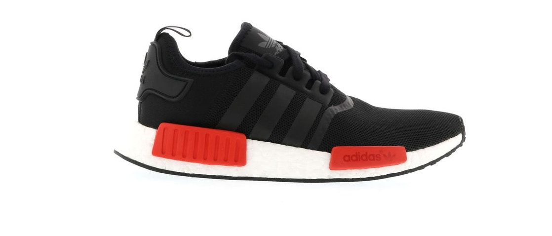5e74a9164759fd Sell. or Ask. Size  13. View All Bids. adidas NMD R1 Black Red