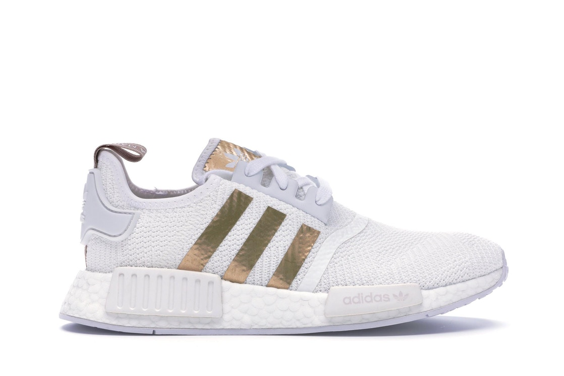 premium selection 7a18a 18005 Sell. or Ask. Size 8.5. View All Bids. adidas NMD R1 Cloud White Copper  Metallic (W)