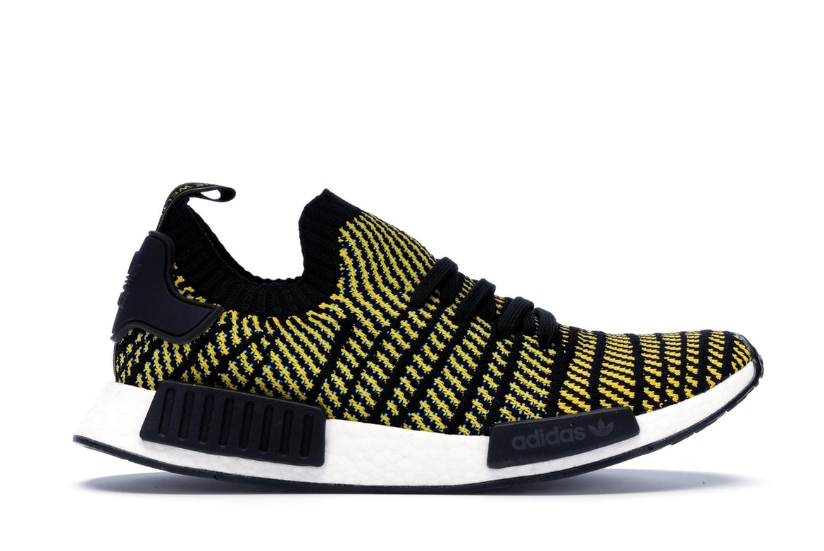 adidas NMD R1 Glow Volt Black BY3016 Sneaker Bar Detroit
