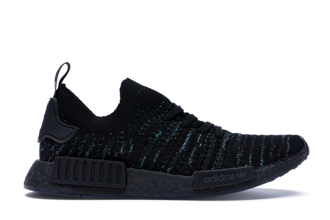 new product 9f9fc 679b0 adidas NMD R1 STLT Parley Core Black