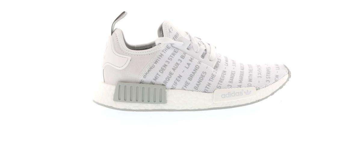 "adidas NMD R1 ""Whiteout"""