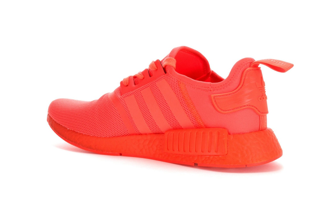 sports shoes 80a8a 386f8 adidas NMD R1 Triple Solar Red - S31507