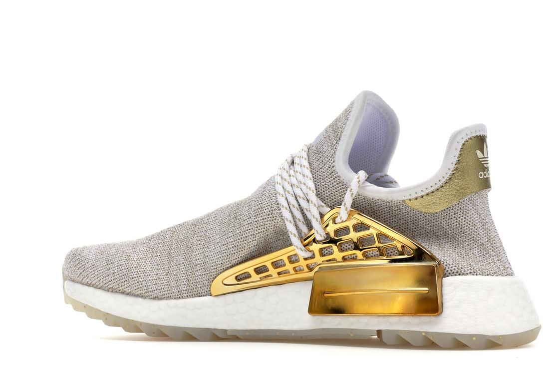 7d16bf0e79db5 adidas Pharrell NMD HU China Pack Happy (Gold) (Friends and Family) - F99762