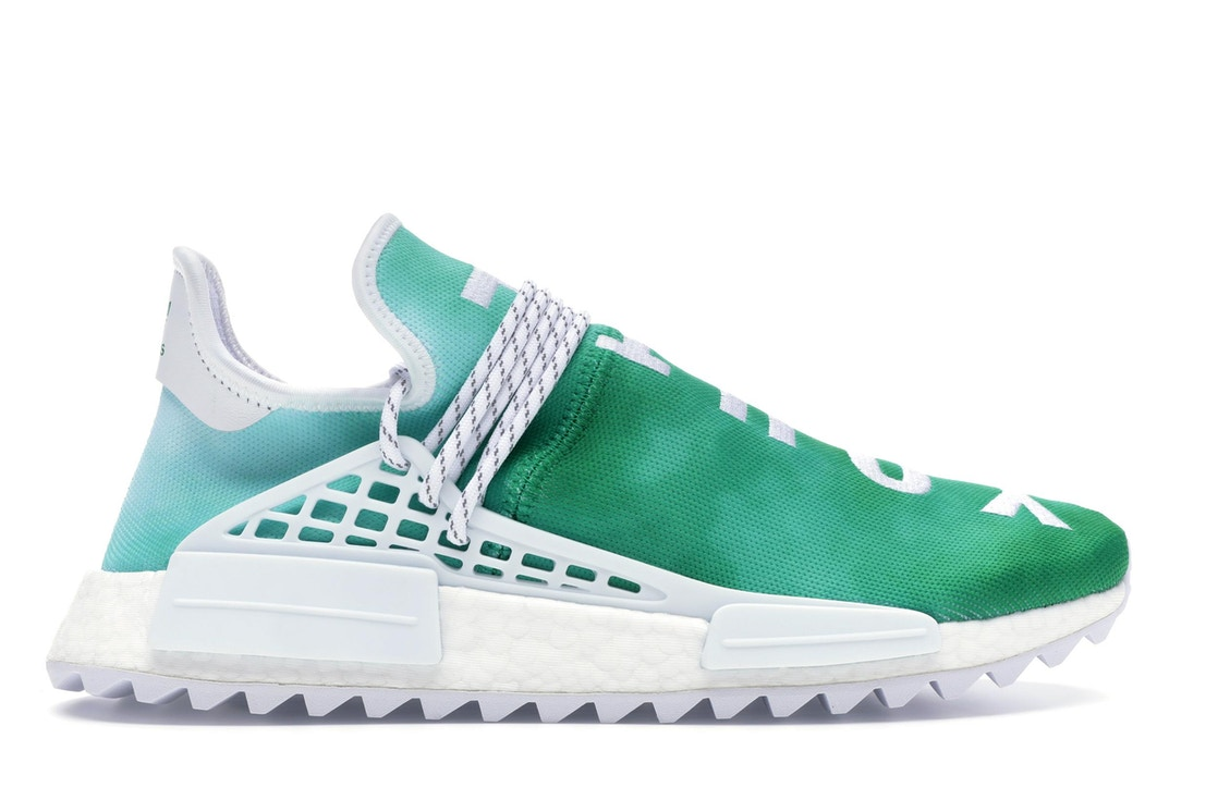 0e784ebb adidas Pharrell NMD HU China Pack Youth (Green) - F99760