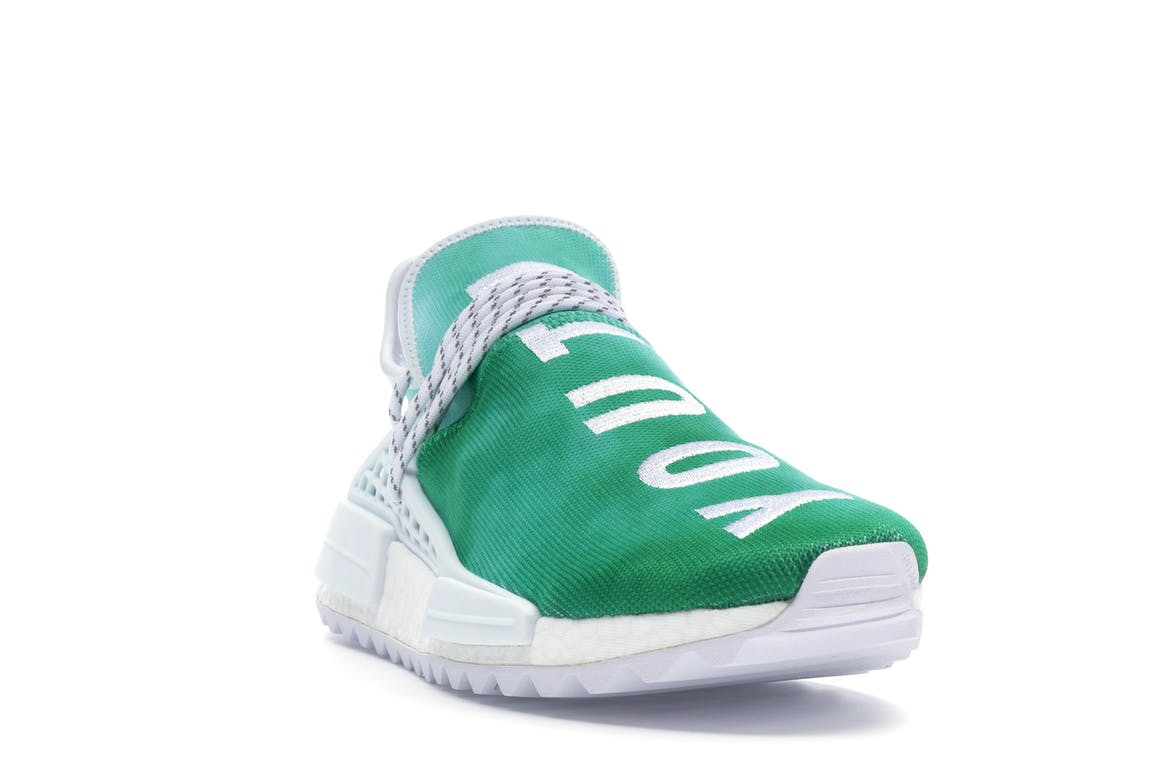 adidas Pharrell NMD HU China Pack Youth (Green)