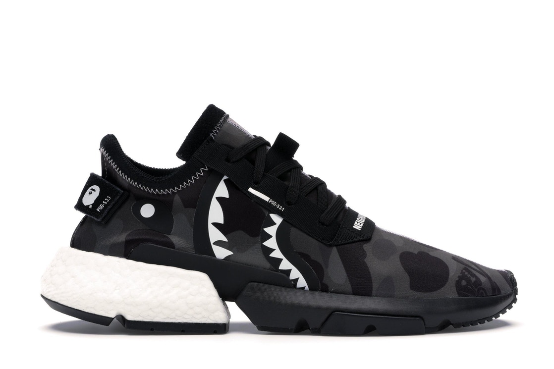 44825bd4 adidas POD S3.1 Bape x Neighborhood - EE9431