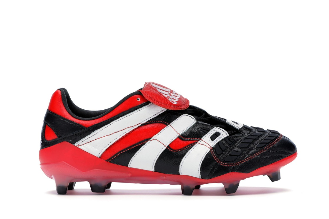 5c26e054a81 Sell. or Ask. Size 9. View All Bids. adidas Predator Accelerator Firm  Ground Cleat Black White Red