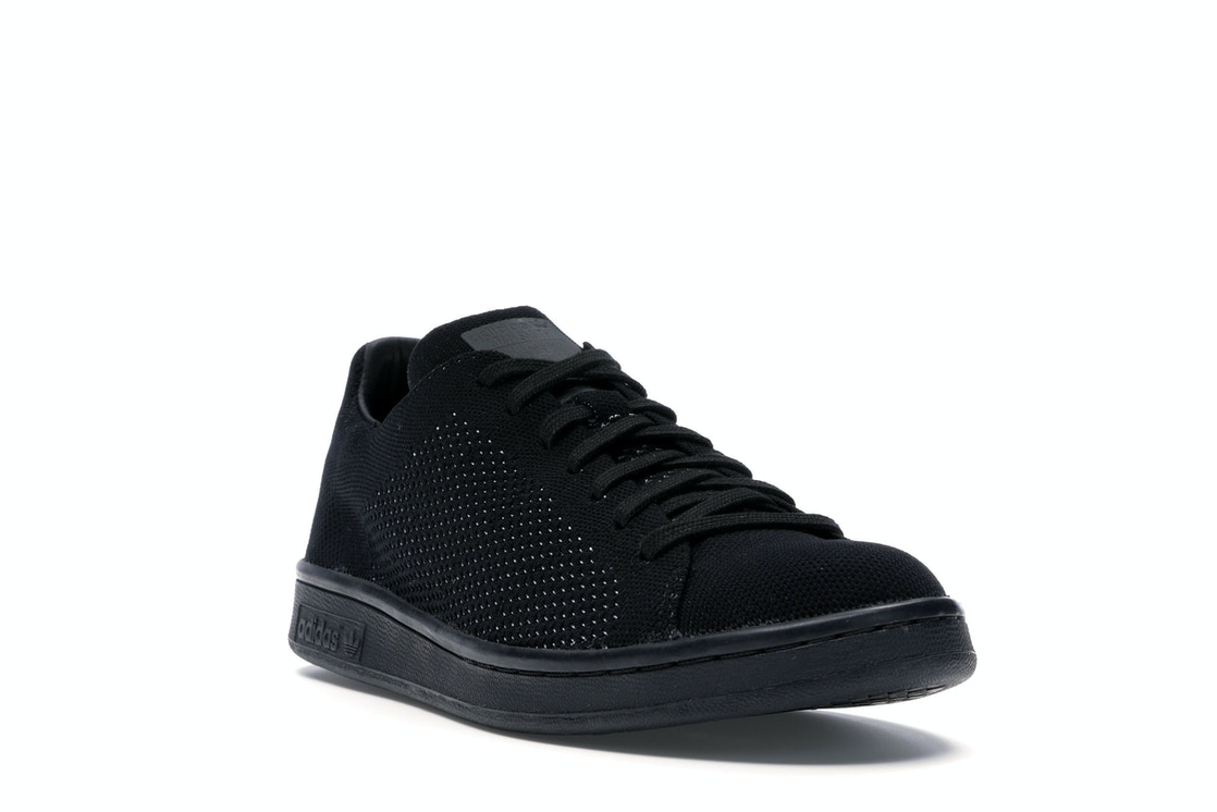 check-out e30f2 02946 adidas Stan Smith Primeknit Triple Black