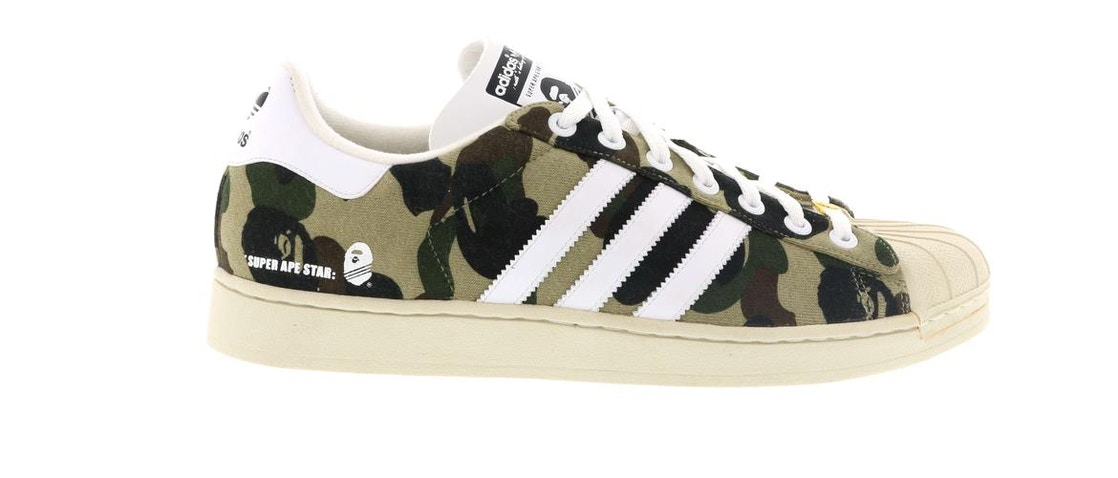 super popular 92bc5 b51ed Sell. or Ask. Size  12.5. View All Bids. adidas Super Ape Star Bape