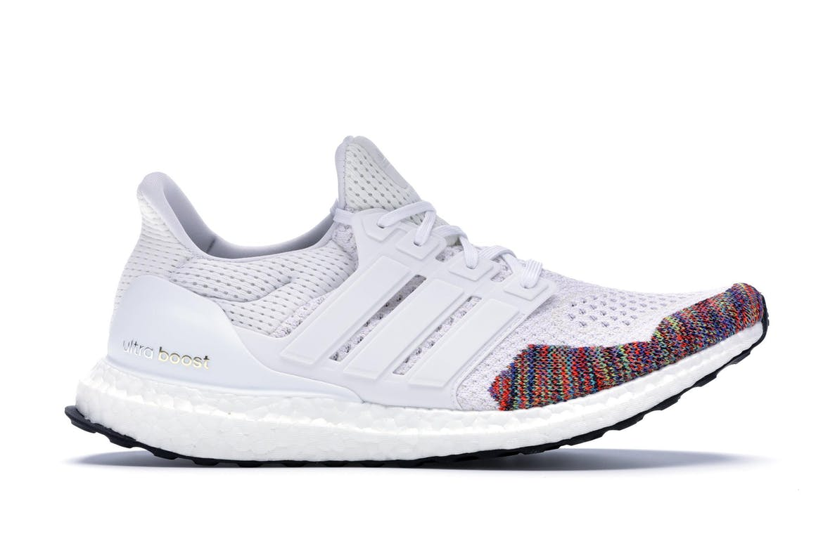 adidas Ultra Boost 1.0 Multi-Color Toe White