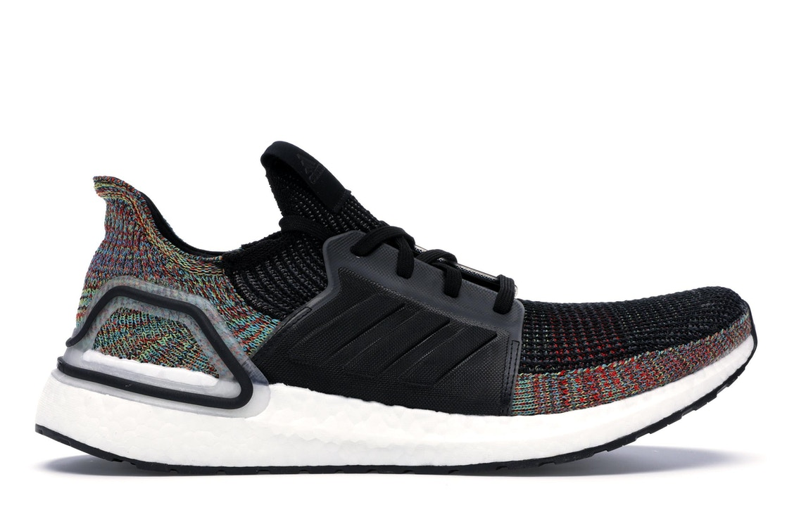 différemment dda2b 74ff5 adidas Ultra Boost 2019 Black Multi-Color