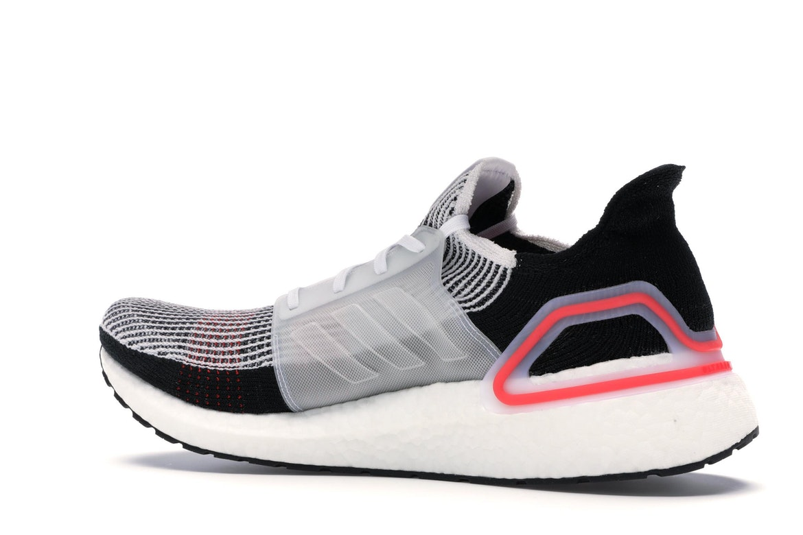 adidas Ultra Boost 2019 Cloud WhiteChalk White Active Red For Sale