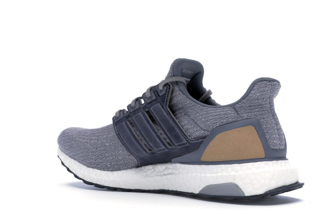 online store bf8ce 87233 adidas Ultra Boost 3.0 Grey Leather Cage - BB1092