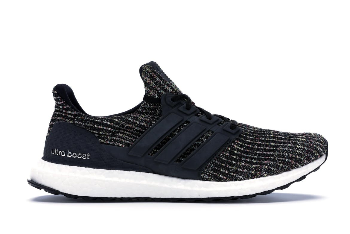adidas Ultra Boost 4.0 Black Multi-Color NYC Bodegas