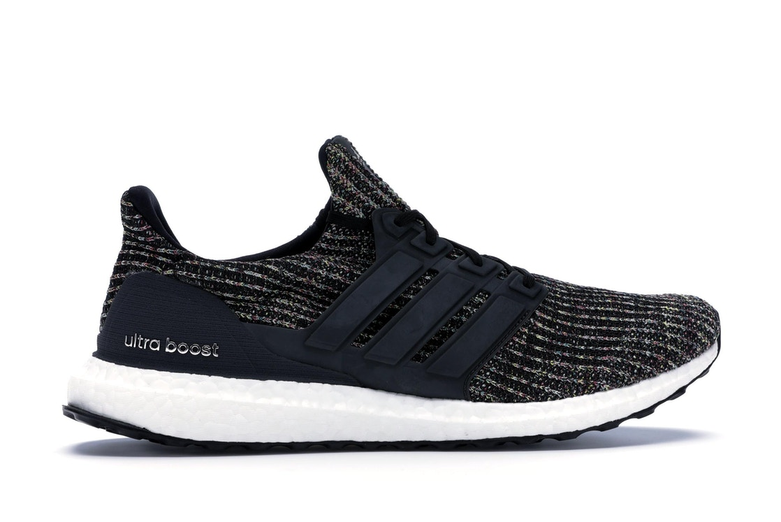 the latest f00d7 50899 adidas Ultra Boost 4.0 Black Multi-Color NYC Bodegas