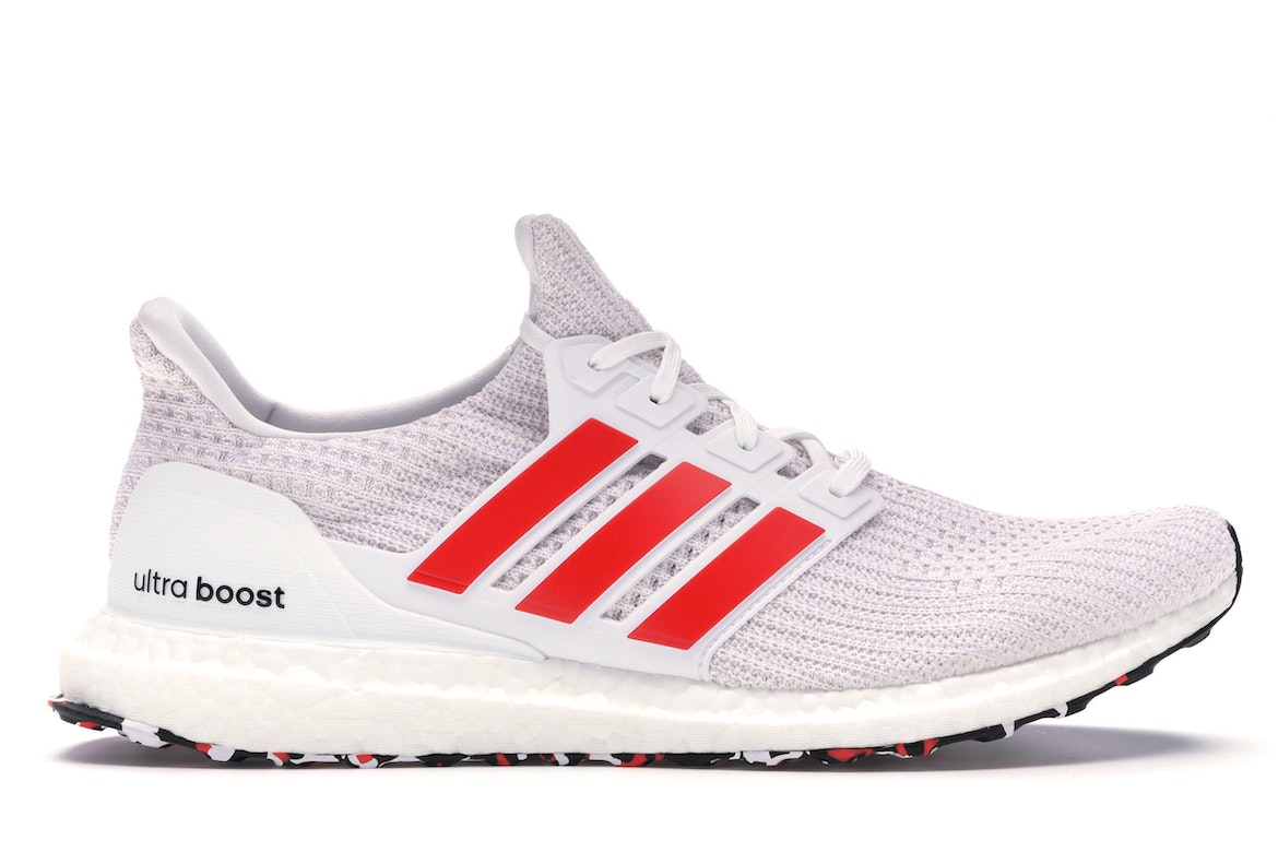 adidas ultra boost mens red white