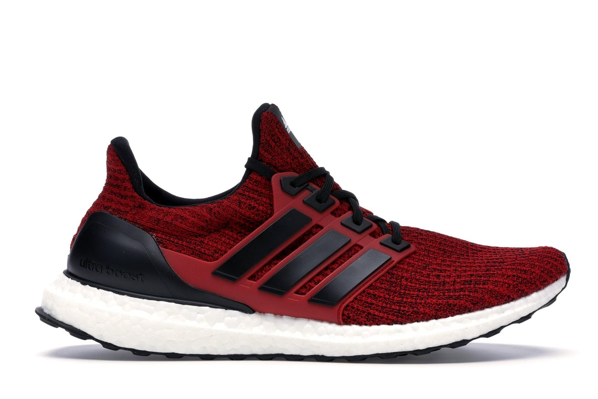 adidas ultra boost red and black