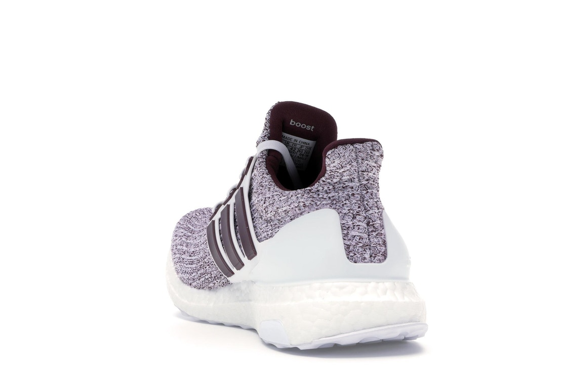 size 40 d3367 e53ab adidas Ultra Boost 4.0 Cloud White Maroon - EE3705