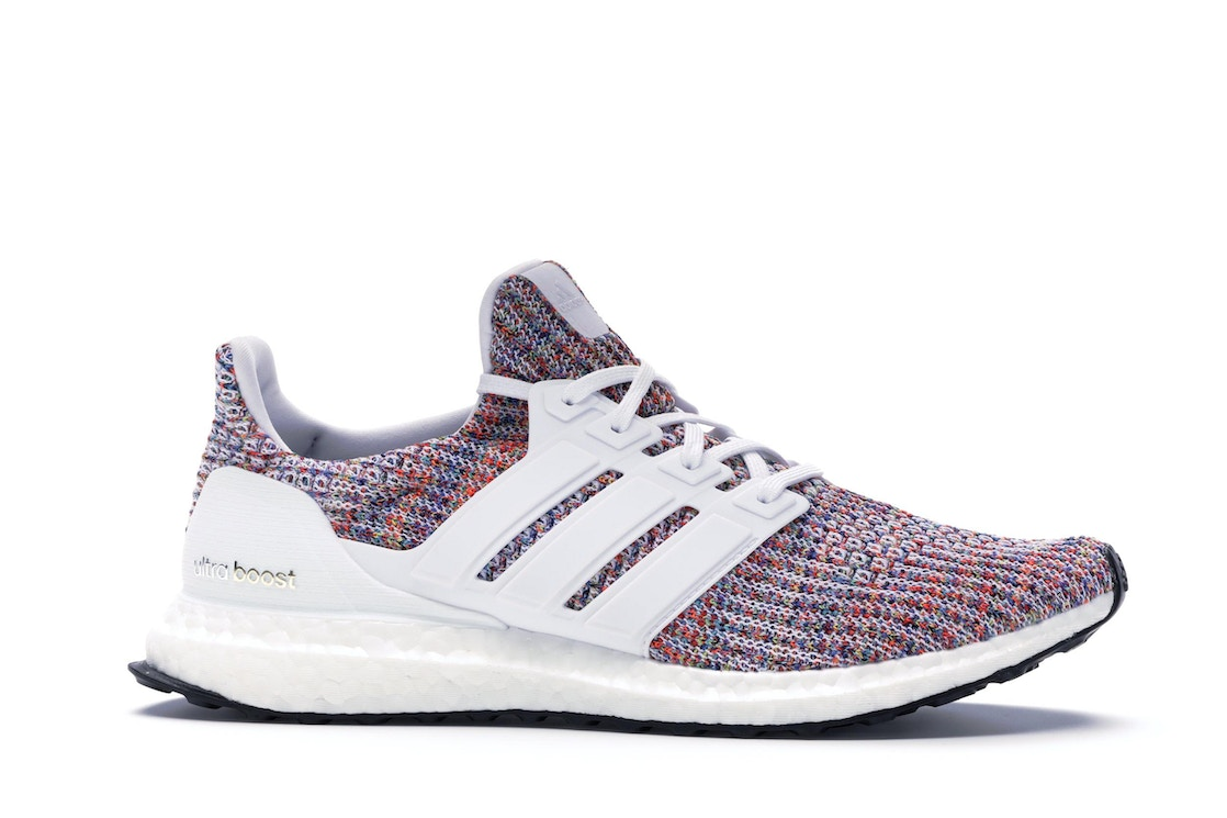 online store 7751c 3f887 adidas Ultra Boost 4.0 White Multi-Color